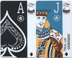 Lot De 2 Cartes : Plaza / Las Vegas Club : Las Vegas NV - Cartes De Casino