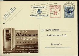 Publibel Obl. N° 1104 A ( Frigo DHALUMAS  - Wevelgem) Obl. Roeselare 1955 - Publibels