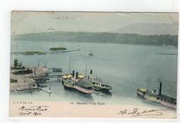 102  Genève. La Rade 1904 - GE Genève
