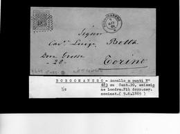CG29 - Lettera Da Borgomanero Per Torino 9/6/1869 - Marcophilia