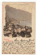 Montreux  Souvenir De Montreux   1905 - Suisse