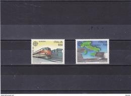 ITALIE 1988 EUROPA Yvert 1775-1776 NEUF** MNH - 6. 1946-.. Republik