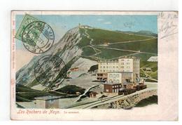 Naye   Les Rochers De Naye  Le Sommet 1906 - Suisse