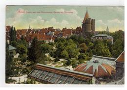 Basel, Partie Aus Dem Botanischen Garten Mit Spalentor   1910 - BS Basle-Town