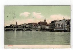 Basel, Panorama   1911 - BS Bâle-Ville