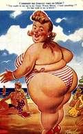HUMOUR - -PIN-UP--Comment Me Trouvez Vous En Bikini ? - TAYLOR Illustrateur  /  TTBE  /  LOT 4031 - Taylor