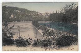 J J 5140  Genève - Jonction De L'Arve Et Du Rhône 1904 - GE Genève