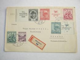 1937 , Einschreiben Aus SVIADNOV - Czechoslovakia