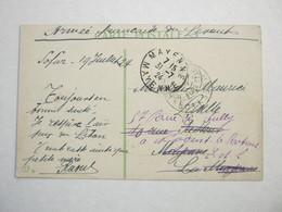 1924 , Carte Postale Militaire , Türkei - Postmark Collection (Covers)