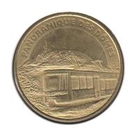 63041 - MEDAILLE TOURISTIQUE MONNAIE DE PARIS 63 - Panoramique Des Dômes - 2014 - Monnaie De Paris