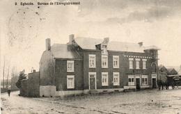 EGHEZEE. Bureau De L' Enregistrement Avec Attelage Boulangerie.  Feldpost 1915 - Eghezée