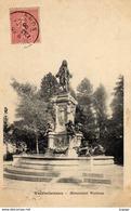 VALENCIENNES  Monument Watteau.  Carte écrite En 1906    2 Scans   TBE - Valenciennes