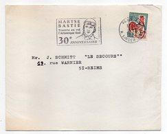 "1967--flamme PARIS 15° -- "" 30° Anniversaire MARYSE BASTIE-Traverse En Vol Atlantique Sud ""  Type Coq ......à Saisir - Maschinenstempel (Werbestempel)"