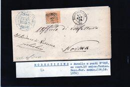 CG29 - Lettera Da Borgoticino Per Novara 24/10/1876 - Marcophilia