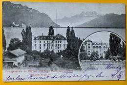 12198 - Vue Générale Du Royal-Hôtel Montreux-Clarens - VD Vaud