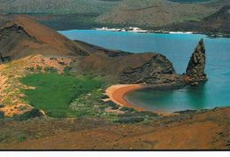 1 AK Galapagos Archipel * Insel Bartolomé (englisch Bartholomew) Mit Dem Pinnacle Rock (Felsnadel) UNESCO Weltnaturerbe - Ecuador