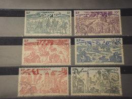 CAMEROUN - P.A. 1946 BATTAGLIA RHIN 6 VALORI - TIMBRATI/USED - Camerun (1960-...)