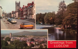 CPSM,  Greetings From Ludlow , Unused, éd Dennis, ENGLAND - Shropshire