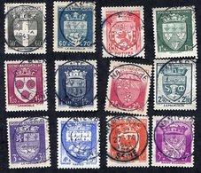France N°553/64 Oblitéré, Qualité Superbe - 1941-66 Armoiries Et Blasons