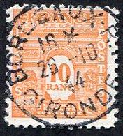 France N°629 Oblitéré, Qualité Superbe - 1944-45 Arc De Triomphe