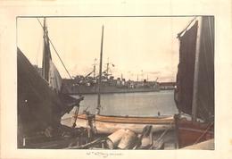 Photo Ancienne ST NAZAIRE BATEAU MILITAIRE ANNEES 30 - Bateaux