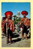 Pérou: Cuzco – Mayors Of Pisac On The Intiraimi Festival (animée) CPSM (voir Scan Recto/verso) - Pérou