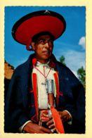 Pérou: Pisac – Indian Mayor In Sunday's Dress (animée) CPSM (voir Scan Recto/verso) - Pérou