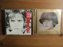 PAIRE DE CD U2. ANNEES 90. WAR / THE BEST OF 1980 1990 IMCD 141 / CIDU 211/524 613 2. SUNDAY BLOODY SUNDAY - Autres - Musique Anglaise