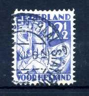 1930 OLANDA N.233 USATO - Periode 1891-1948 (Wilhelmina)