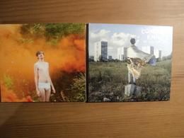 PAIRE DE CD 5 ET 10 TITRES CONCRETE KNIVES. 2011 / 2012 YOU CAN T BLAME THE YOUTH / BE YOUR OWN KING. DU BON SON NORMAN - Música & Instrumentos