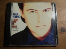 CD 16 TITRES PAUL YOUNG. 1991. COLUMBIA 468825 2. FROM TIME TO TIME EVERY TIME YOU GO AWAY.... - Autres - Musique Anglaise