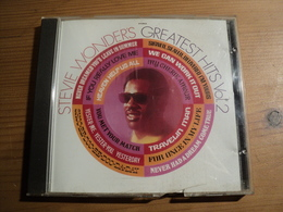 CD 12 TITRES STEVIE WONDER. 1998. GREATEST HITS VOL. 2. MOTOWN 530 942 2 SHOO BE DOO BE DOO DA WAY ... - Autres - Musique Anglaise