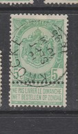 COB 56 Oblitération Centrale KNOCKE - 1893-1907 Armarios