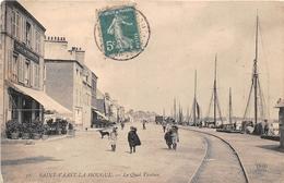 ¤¤  -   SAINT-VAAST-la-HOUGUE   -  Le Quai Vauban  -  Café Du Commerce        -  ¤¤ - Saint Vaast La Hougue