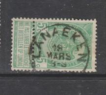 COB 56 Oblitération Centrale LANAEKEN - 1893-1907 Armarios