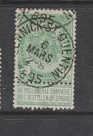 COB 56 Oblitération Centrale LENNICK-ST-QUENTIN - 1893-1907 Armarios