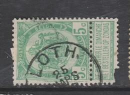 COB 56 Oblitération Centrale LOTH - 1893-1907 Armarios