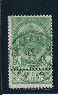 OCB 56 - Afstempeling HAELEN-LEZ-DIEST- COBA 8 - 1893-1907 Coat Of Arms