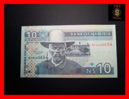 NAMIBIA 10 $ 2009  P. 4 C  Without 10 In Wmk Area  Printer Orell Fussli UNC - Namibie