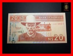 NAMIBIA 20 $ 2006 P. 6 Serial J 8 Digits  FCO - Namibië