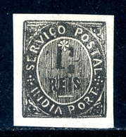 ! ! Portuguese India - 1883 Native 1 1/2 R - Af. 129 - MH - India Portoghese