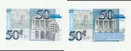 Billet Fictif Publicitaire De 50 Euros De La Maison Damart Valable Pour Un Cadeau (lot 791a) - Fictifs & Spécimens
