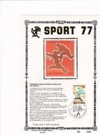Feuillet Tirage Limité 400 Exemplaires Sport 1866 Hockey - Velletjes