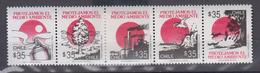 CHILI     1990       N °   979 / 983        COTE      2 € 50       ( 1280 ) - Chile
