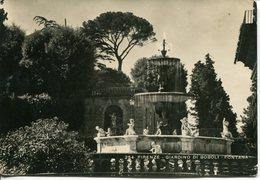 Firenze - Giardino Di Boboli - Viaggiata 1951 - Firenze