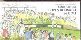 Souvenir Philatélique   Centenaire De L' Open De France De Golf - Blocs Souvenir