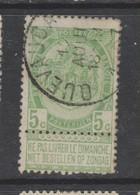 COB 56 Oblitération Centrale QUEVAUCAMPS - 1893-1907 Armarios