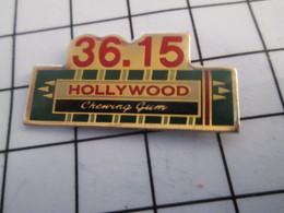 816a Pin's Pins / Beau Et Rare / THEME : INFORMATIQUE / MINITEL 36.15 HOLLYWOOD CHEWING GUM - Informatique