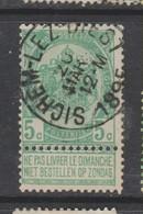 COB 56 Oblitération Centrale SICHEM-LEZ-DIEST - 1893-1907 Armarios