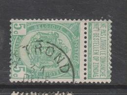 COB 56 Oblitération Centrale ST-TROND - 1893-1907 Armarios